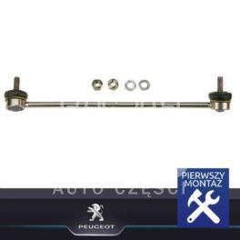 łącznik stabilizatora Peugeot 207/ 208/ 301  lewy przód - nowy oryginał Peugeot