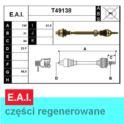 półoś MEGANE 1,4-1,9D prawa  -12/1998 (CR21) - francuska regeneracja E.A.I.