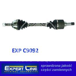 półoś Peugeot 309 XU/XUD  lewa - zamiennik typu brand Expert Line