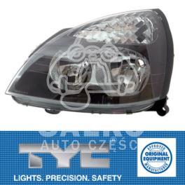 reflektor Renault CLIO II od 2001 na H7+H1 lewy elektryczne - nowy zamiennik TYC
