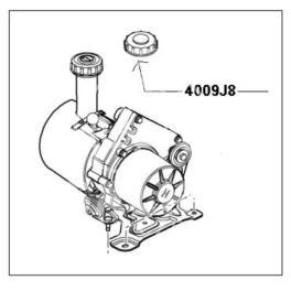 korek zbiornika wspomagania kierownicy Citroen, Peugeot pompy elektr (oryginał Peugeot)
