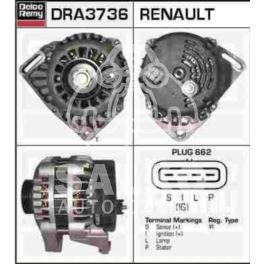 alternator Renault 1,2 D7F 75A 4PK/60mm - zamiennik polski Auto-Starter