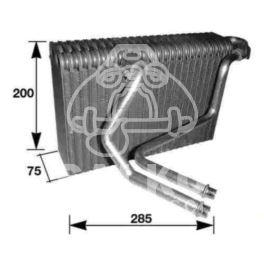 parownik klimatyzacji MEGANE I 200X290x73mm - zamiennik duński NISSENS