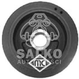 koło pasowe wału Citroen, Peugeot 2,1D XUD11 6PK/153mm - zamiennik hiszpański Metalcaucho