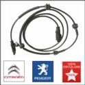 czujnik ABS  Citroen C6/P407 tył BOSCH L/P (oryginał Peugeot)