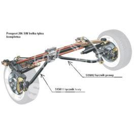 łącznik belki tył Peugeot 206 COMBI prawy (oryginał Peugeot)