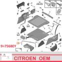 opaska koła dojazdowego CiTROEN C5 X7 2008- - nowa w oryginale Citroen