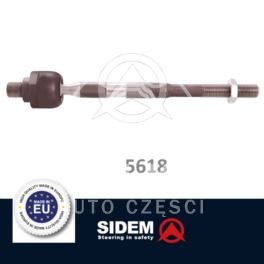 drążek kierowniczy Renault CLIO IV/ CAPTUR 232mm  - zamiennik Prottego Palladium