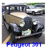 model Peugeot 301