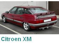 Citroen XM od tyłu