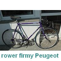 rower szosowy produkcji Peugeot