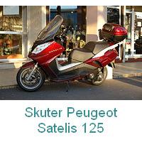 skuter produkcji Peugeot