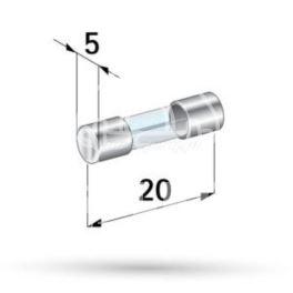 bezpiecznik szklany 8A - zamiennik polski Connect