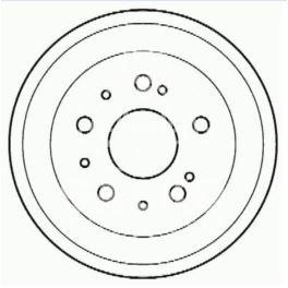 bęben hamulcowy Citroen JUMPER/ BOXER ER 1,8T - zamiennik włoski OMC