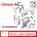 listwa błotnika Citroen AX do 1989 prawy tył (klejona 47mm) - nowa w oryginale Citroen