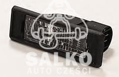 lampka oświetlenia tablicy rejestracyjnej Citroen AX II/ ZX/ Peugeot 106/ 306.. (oryginał Peugeot)