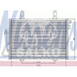 chłodnica klimatyzacji KANGOO 1,9D/DTi 97- - zamiennik duński NISSENS