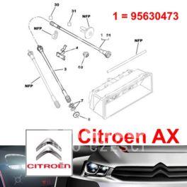 linka szybkościomierza Citroen AX (od licznika) (oryginał Citroen)