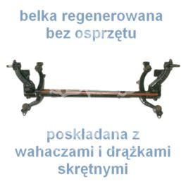 "belka tylna Peugeot 206 HB kpl/stab +ABS ""O"" (regeneracja)"