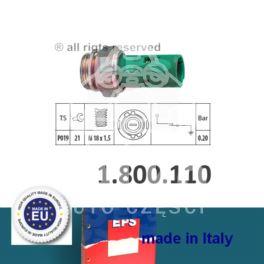 czujnik ciśnienia oleju RENAULT 1990- st.0,20bar - zamiennik włoski EPS