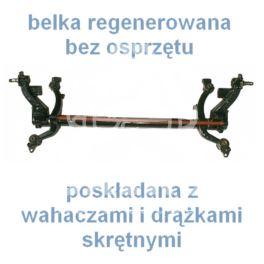 "belka tylna Peugeot 206 HB kpl/ stab ""O"" (regeneracja)"