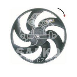 śmigło wentylatora chłodnicy BERLINGO 305mm ECIA (śruba) - nowy zamiennik typu brand