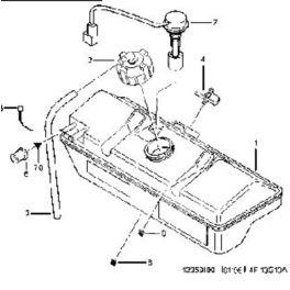 zbiornik wyrównawczy BOXER 2,0 XU10/2,5D (oryginał Peugeot)