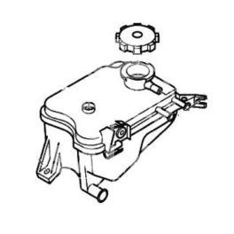 zbiornik wyrównawczy AX 1,4D/1,5D (oryginał Citroen)