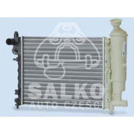 chłodnica SAXO/ Peugeot 106 96- 1,0-1,6 - nowy zamiennik typu brand