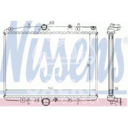 chłodnica Citroen C5/P406 2,0-16v/2,0HDi +/-AC - zamiennik Nissens