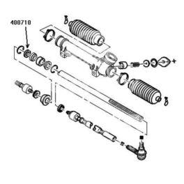 reperaturka przekładni kierowniczej P205... (podkładka 24mm) (oryginał Peugeot)
