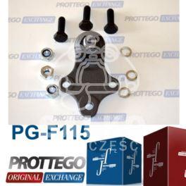 sworzeń wahacza Peugeot 306 16mm - zamiennik Prottego Palladium