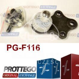 sworzeń wahacza Peugeot 306 18mm +śruby - zamiennik Prottego Palladium