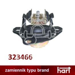 poduszka silnika Renault MEGANE 1,4-16v/ 1,6-16v/ ... od 1999- prawa - nowa w zamienniku typu brand Hart