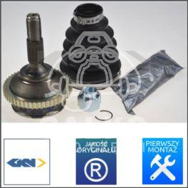 przegub napędowy Peugeot 206 1,1-1,6 (21x22) +ABS48 KIT - producent niemiecki GKN