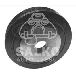 koło pasowe wału Citroen, Peugeot 2,1D XUD11 6PK/153mm - zamiennik włoski Corteco