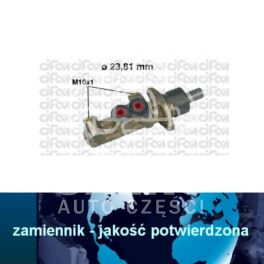 pompa hamulcowa Citroen, Peugeot, Fiat 23,81mm BDX/BOSCH - zamiennik włoski CIFAM
