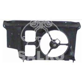 pas przedni Peugeot 206 plastikowy -AC (oryginał Peugeot)