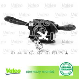 przełącznik świateł i wycieraczek zintegrowany Peugeot 307 DAV -ESP/+MPS/+KP/+CZO - francuski oryginał Valeo