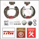 zestaw hamulcowy tył AX14/SAXO/106 BDX 4-śr (180mm) (producent niemiecki TRW)