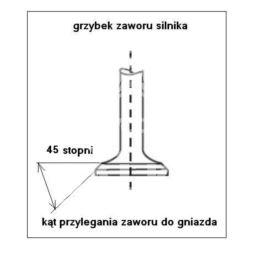 zawór silnika Citroen, Peugeot 2,0-16v EW10J4 wydechowy (oryginał Peugeot)