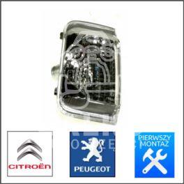 kierunkowskaz - migacz boczny Citroen Jumper III/ Peugeot BOXER 3 lewy w lusterku biały (oryginał Peugeot)