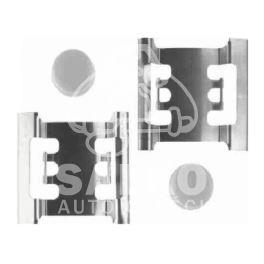 zestaw sprężynek hamulcowych przód MASTER II BSC (1080) (niemiecki producent TRW)