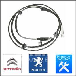 czujnik ABS Citroen C6/P407 tył BOSCH L/P +ESP -OPR (oryginał Peugeot)