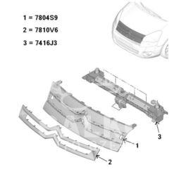 atrapa Citroen BERLINGO III 2008- (oryginał Citroen)