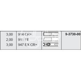 pierścienie tłokowe Citroen, Peugeot 2,1TD XUD11ATE3 STD - zamiennik niemiecki NPR