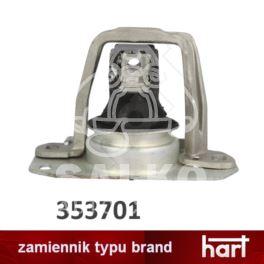 poduszka silnika TRAFIC II prawa 1,9dCi/2,0dCi - nowa w zamienniku Hart
