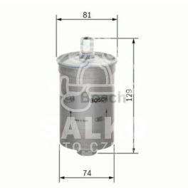 filtr paliwa Peugeot 205 1,3/309 1,6GTi - niemiecki producent Bosch