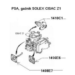 membrana gaźnika Citroen, Peugeot SOLEX Z2-528 pompka przysp (oryginał Peugeot)