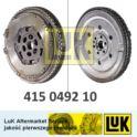 koło dwumasowe Renault 1,4-16v/ 1,4TCe 2009- (niemiecki producent LUK)